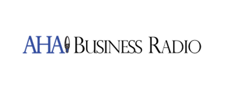 AHA Business Radio Logo
